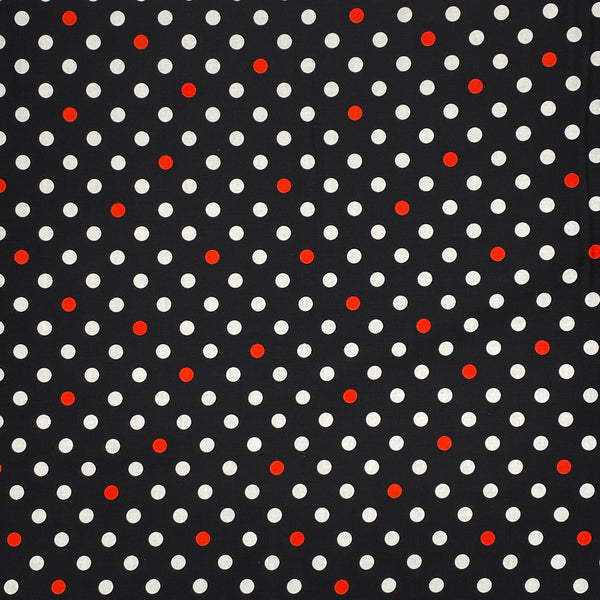 Many Dots Cotton Fabric