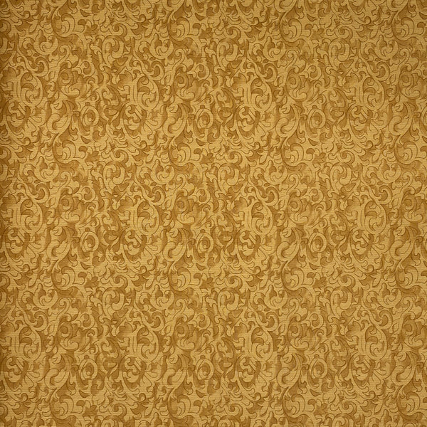 Color Wall (Gold) Cotton Fabric