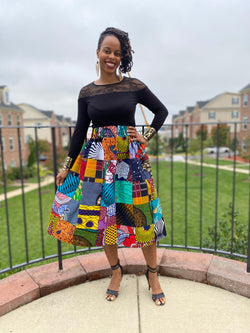 Patchwork Skirt Sew-Along