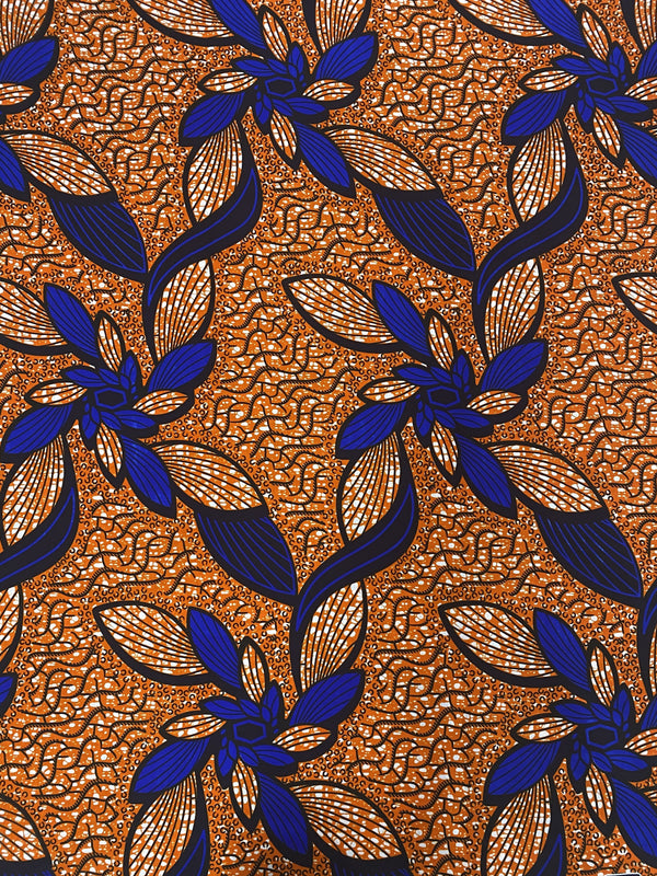 Bloom African Print Fabric