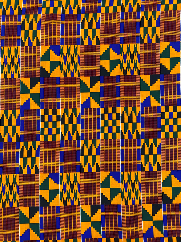 Red and Yellow Kente