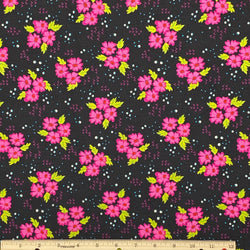 Floral Clusters Cotton Fabric