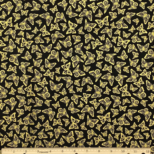 Butterflies Cotton Fabric