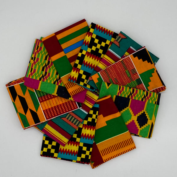 Kente Fat Quarter Bundles