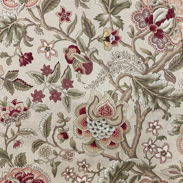 Floral Blooms Home Decor Fabric