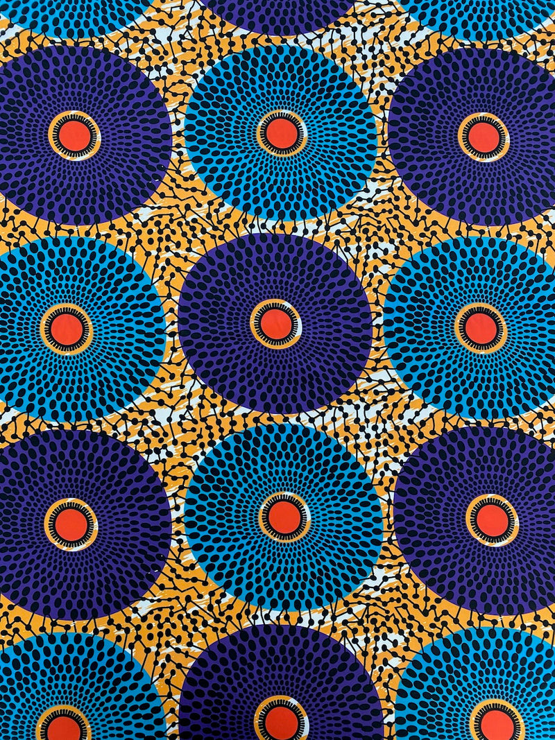 Stretch Circle African Print