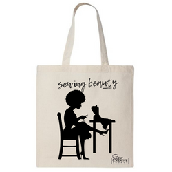 Sewing Beauty Tote Bag