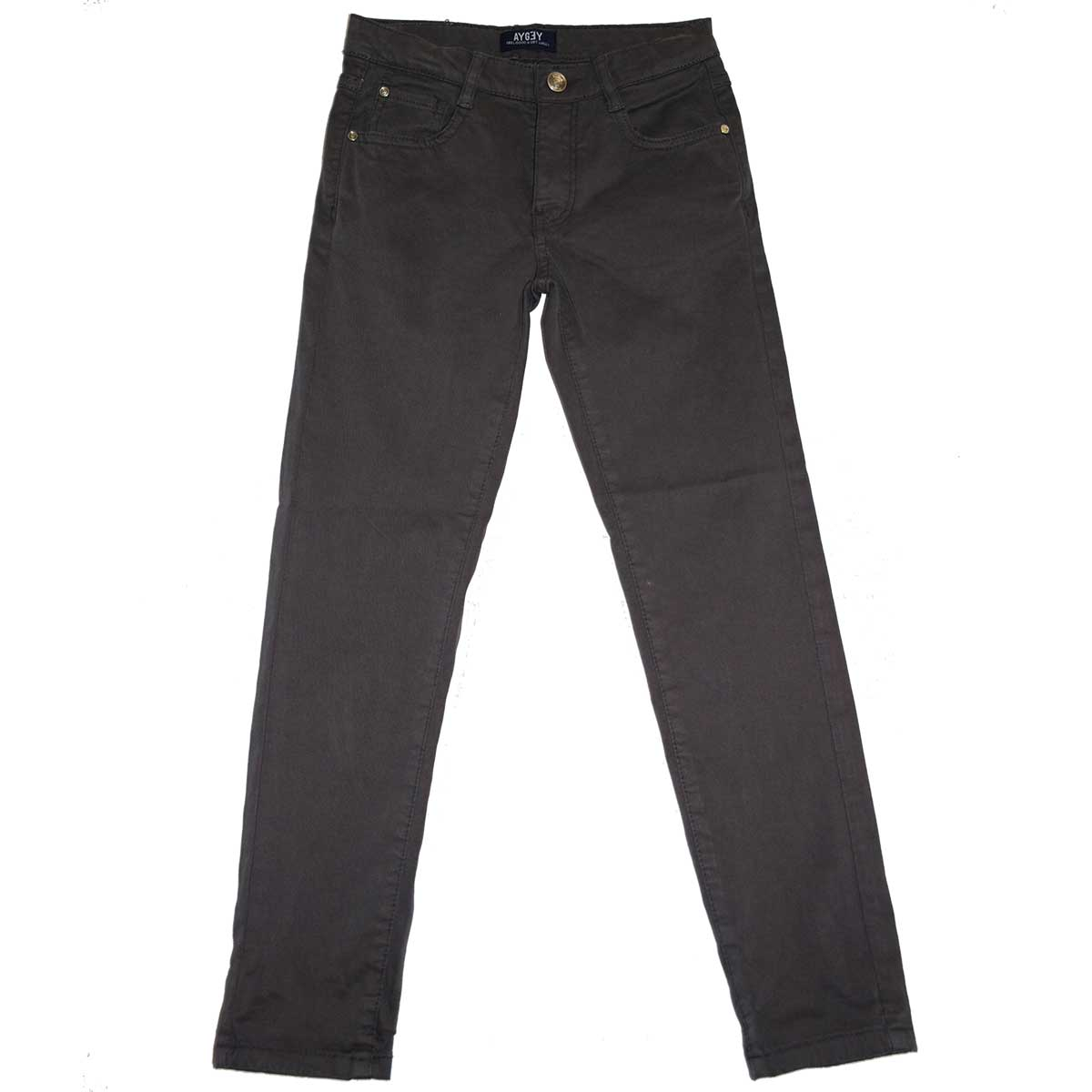 Moleskin pants of the line Children's Clothing Aygey regular model   five pockets with adjusta...