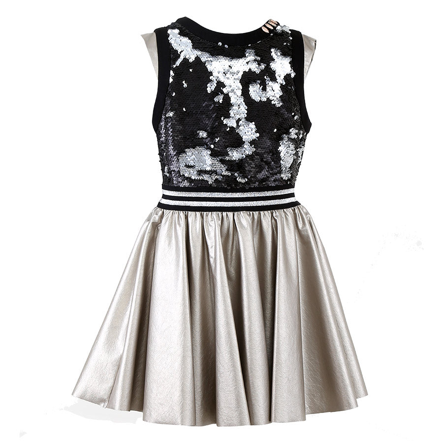 DRESS BLACKSKIN