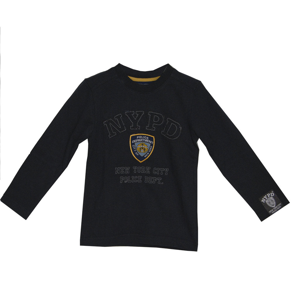 Lightweight sweatshirt of the children's clothing line Mirtillo with front and back   Embroide...