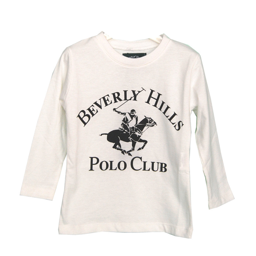 T-shirts from the Beverly Hills Polo Club children's clothing line, solid colour   with contra...