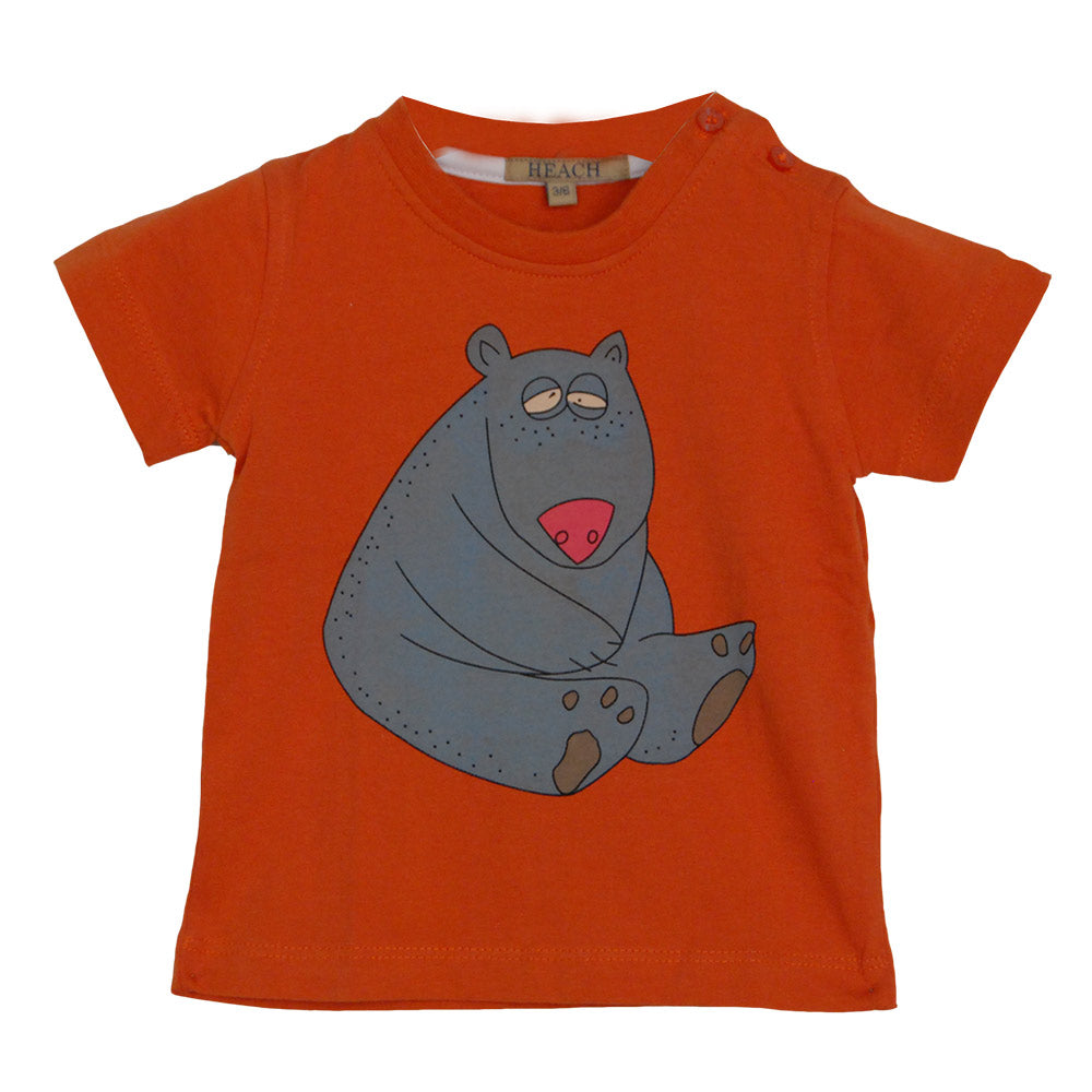 T-shirt from the children's clothing line Silvian Heach. Solid color with nice   print on the ...