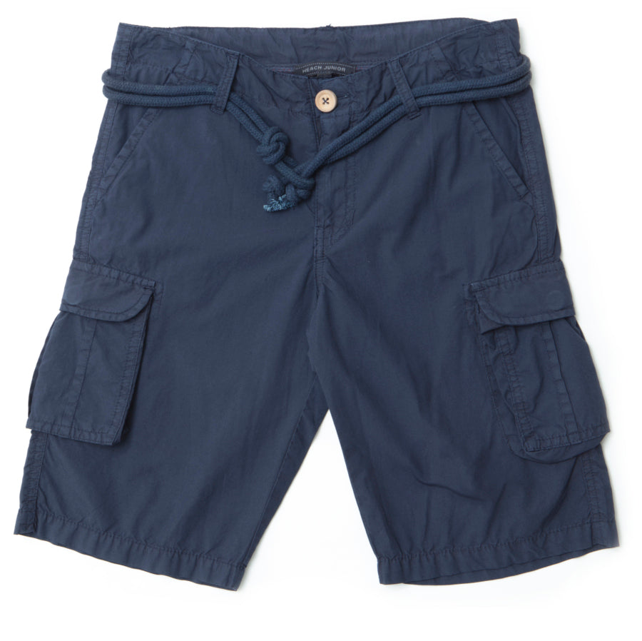 Bermuda shorts from the Silvian Heach Kids children's clothing line; sports model with   side ...