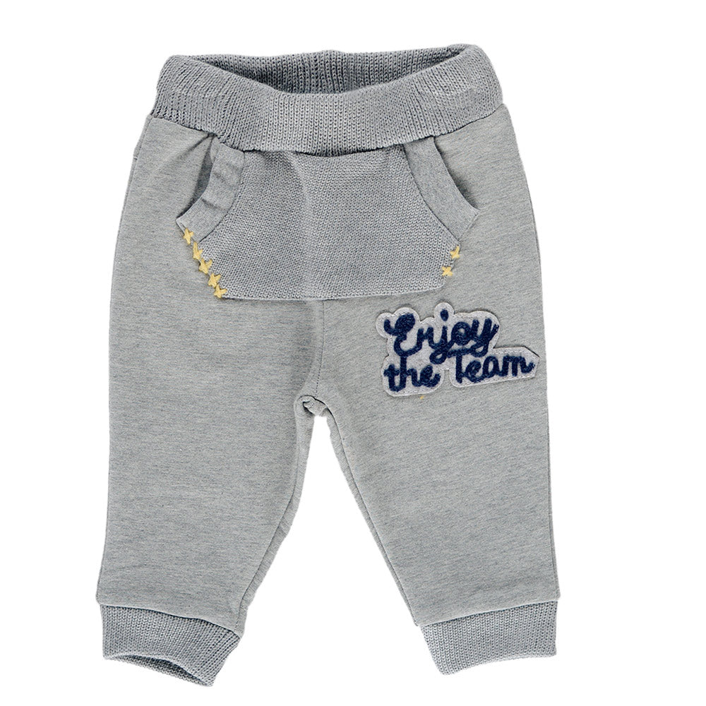 Plush trousers from the Silvian Heach Kids clothing line with pocket   unique front and tone o...