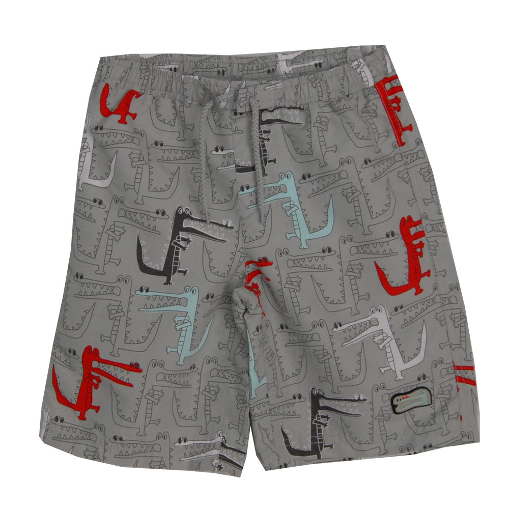 Bermuda shorts from the Tuc Tuc children's clothing line. Crocodile fantasy   all-over. Elasti...