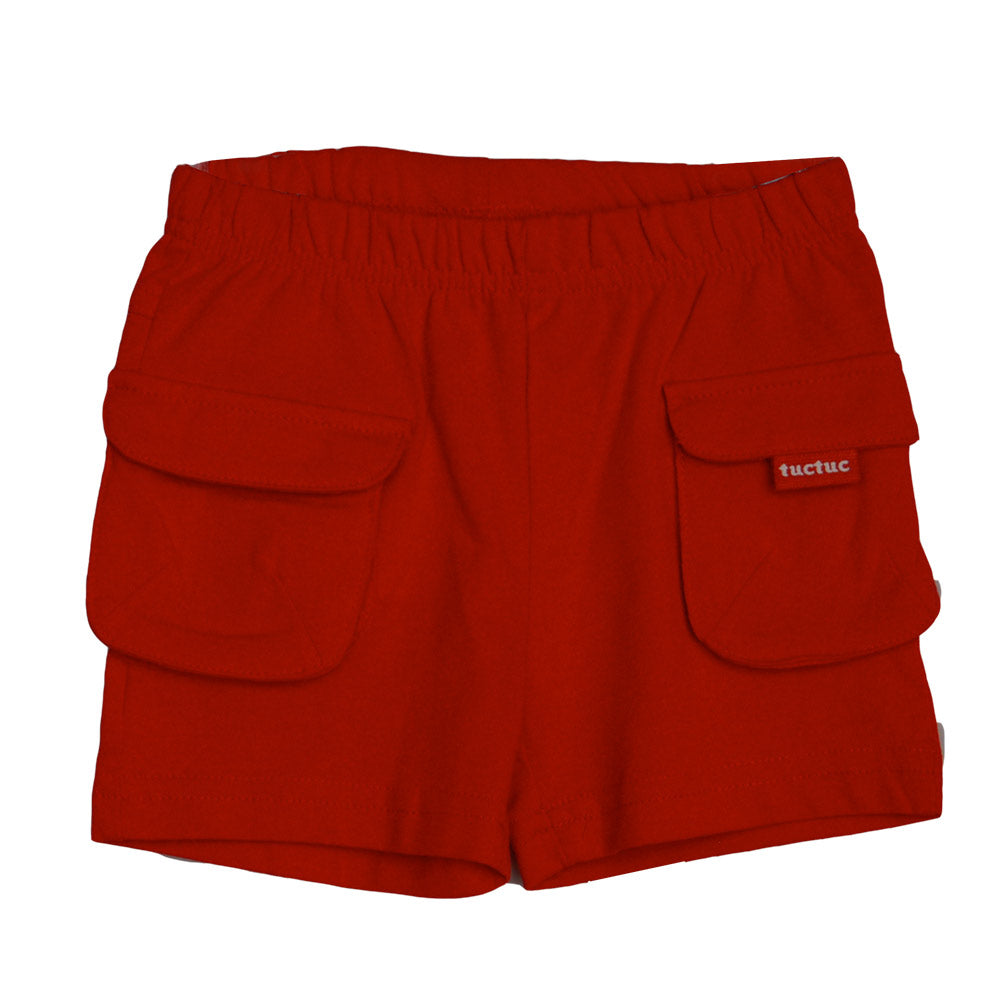 Shorts from the children's clothing line Tuc Tuc. Solid colour with side pockets.   Elastic be...