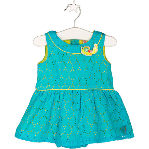 VESTIDO POPELIN S/M BIRDS HEAD