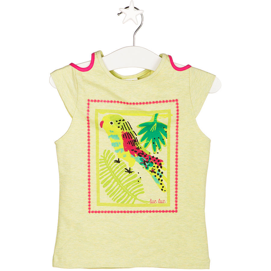 CAMISETA LORO TROPICAL