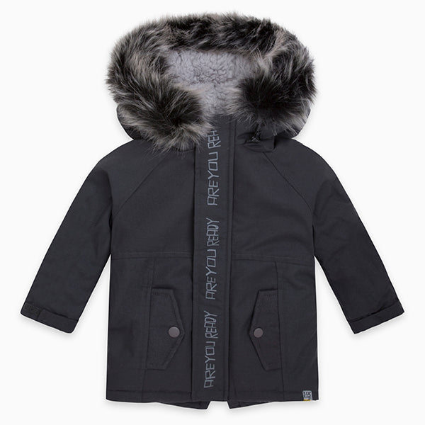 Parka from the Tuc Tuc Kids' Clothing Line, in technical fabric, padded   with fur on the insi...
