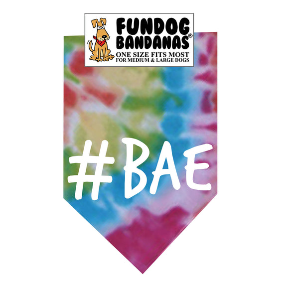 Wholesale 10 Pack - #BAE - Assorted Colors - FunDogBandanas
