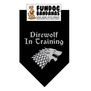Wholesale 10 Pack - Direwolf in Training - Black Only
