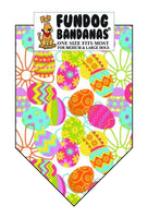 Wholesale 10 Pack - T0081 Bandana, Tossed Eggs