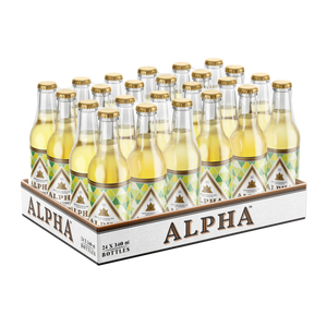 Alpha Dry | 24 x 340ml NRBs | 4% ALC/VOL