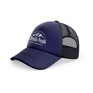 Devil's Peak Trucker Cap | Navy Blue
