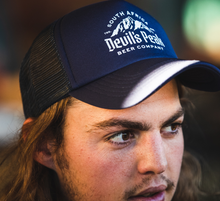 Load image into Gallery viewer, Devil's Peak Trucker Cap | Navy Blue