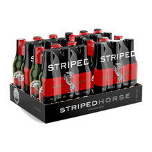 Load image into Gallery viewer, Striped Horse Lager | 24 x 330ml NRBs | 5% ALC/VOL