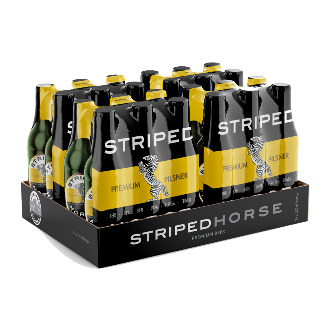 Striped Horse Pilsner | 24 x 330ml NRBs | 4.5% ALC/VOL