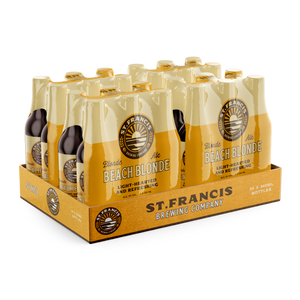 St Francis Beach Blonde | 24 x 340ml NRBs | 4% ALC/VOL
