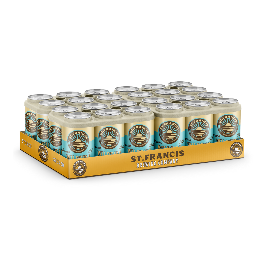 St Francis Wild Side IPA | 24 x 330ml Cans | 5% ALC/VOL