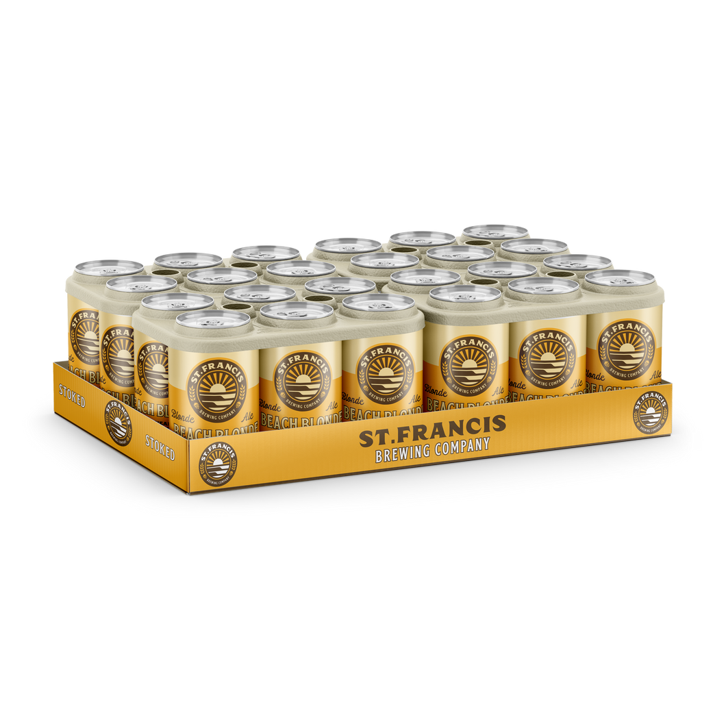 St Francis Beach Blonde | 24 x 330ml Cans | 4% ALC/VOL