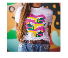 Load image into Gallery viewer, Juicy Lucy White T-shirt