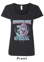 "Ladies Glitter ""Southern Rock"" Tee"
