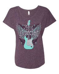 Womens Wing Guitar Tee