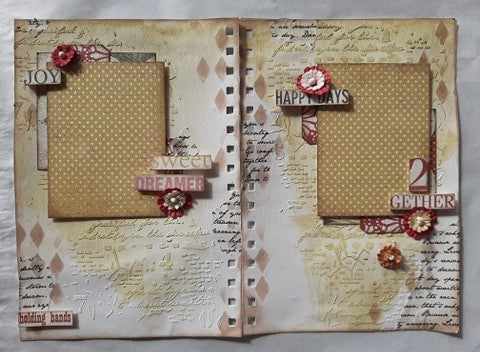 Sweet Dreamer 2 Gether Junk/Art Journal Kit