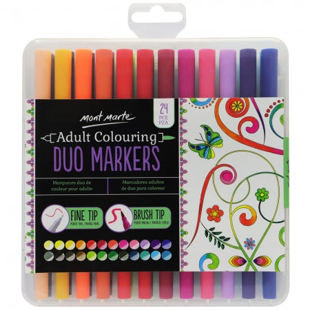Duo Markers 24pc