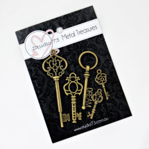 Studio 73 Metal Treasures - Keys