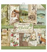 Stamperia Paper Pack - Forest