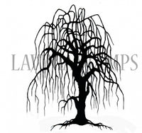 Lavinia Stamp - Weeping Willow Tree - LAV296