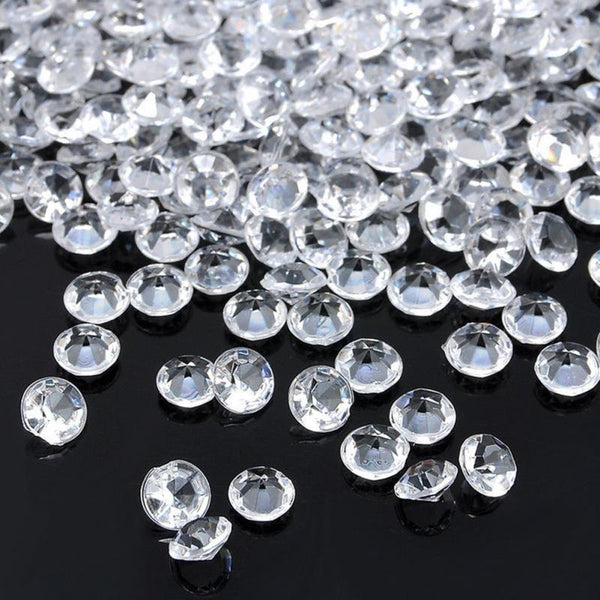 Wedding Decoration 1000PCS 4.5mm Crafts Crystal Confetti Table Scatters Clear Crystals Centerpiece Events Party Festive Supplies