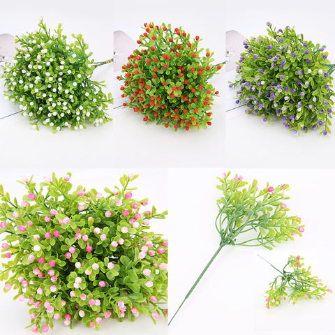 DIY 1PC Wedding Fake Flowers Popular Festival Supplies Home Decorations Party Decoration Milan High Quality Artificial Flower