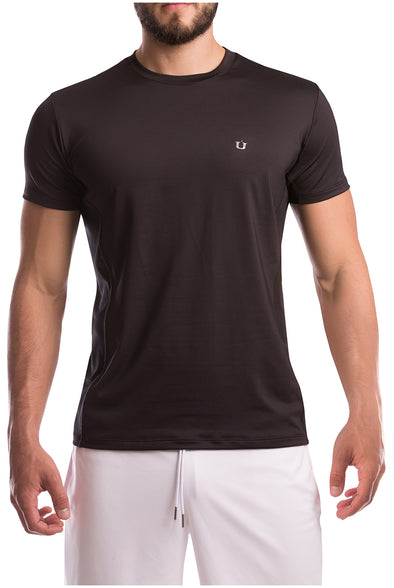 Camiseta Deportiva Work Oui Black
