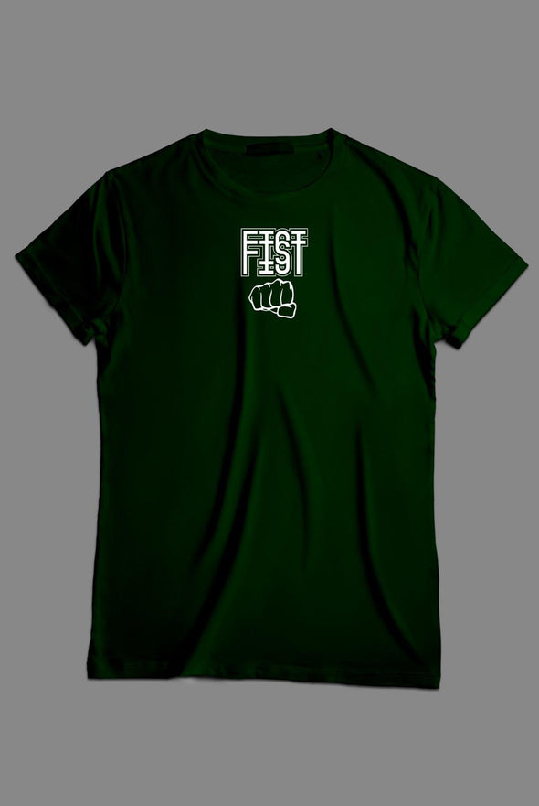 Camiseta Fist Drip Logo Green