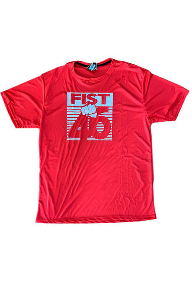 Camiseta Fist Gym Red Box
