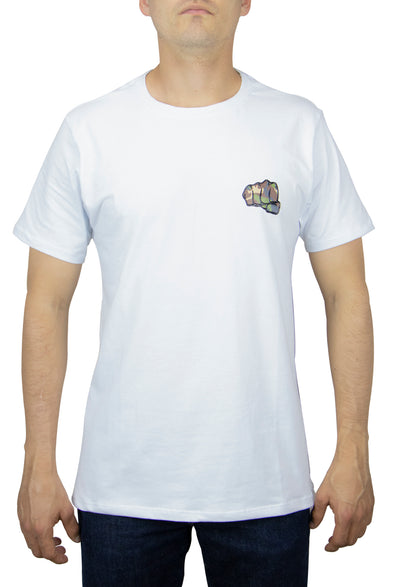 Camiseta Fist White Logo Camo