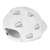 Gorra fist Multilogos White