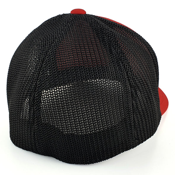Gorra Fist Red Black Mesh